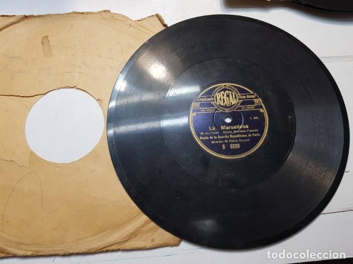 Discos de pizarra: Disco de Pizarra-La Marsellesa-Disco REGAL - Foto 2 - 174177434