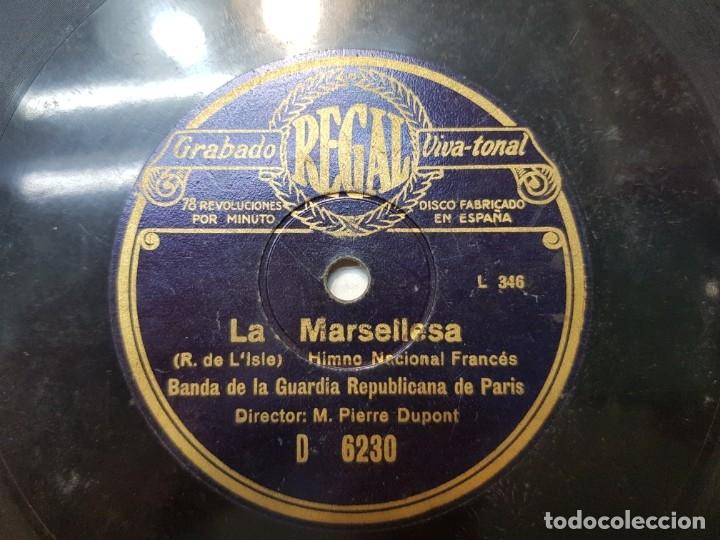 Discos de pizarra: Disco de Pizarra-La Marsellesa-Disco REGAL - Foto 3 - 174177434