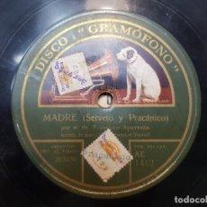 Discos de pizarra: DISCO DE PIZARRA-GALLEGUITA-DISCO GRAMOFONO. Lote 209106416