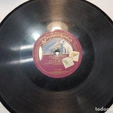 Discos de pizarra: DISCO DE PIZARRA-LA DOGARESA-DISCO GRAMOFONO . Lote 174178129