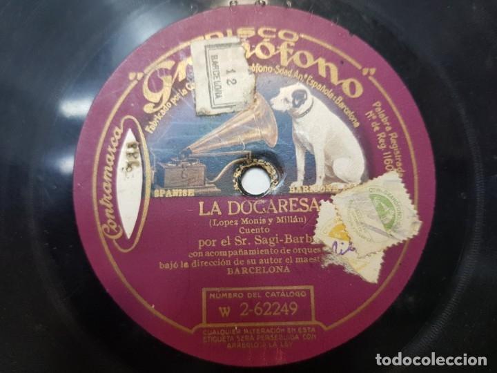 Discos de pizarra: Disco de Pizarra-La Dogaresa-Disco GRAMOFONO - Foto 3 - 174178129