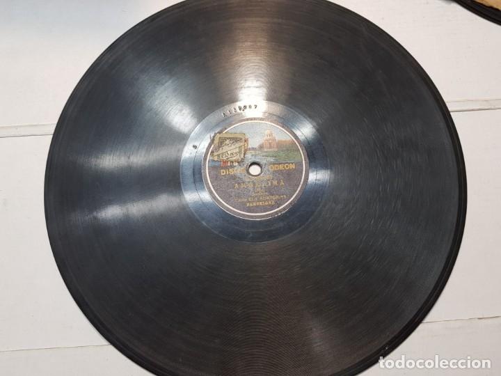 DISCO DE PIZARRA-ANGELINA-DISCO ODEON (Música - Discos - Pizarra - Flamenco, Canción española y Cuplé)