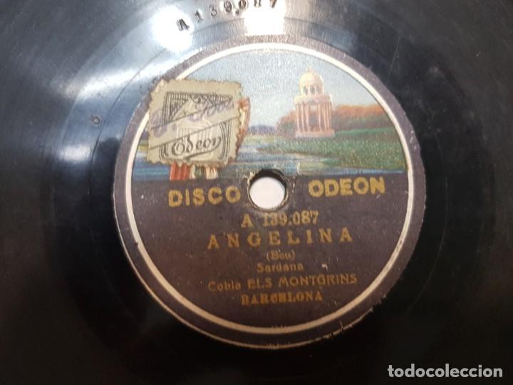 Discos de pizarra: Disco de Pizarra-Angelina-Disco ODEON - Foto 2 - 174178378