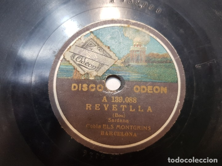 Discos de pizarra: Disco de Pizarra-Angelina-Disco ODEON - Foto 3 - 174178378