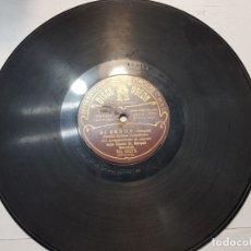 Discos de pizarra: DISCO DE PIZARRA-SI SEÑOR-DISCO ODEON. Lote 174179234
