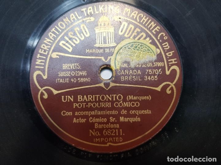 Discos de pizarra: Disco de Pizarra-SI SEÑOR-Disco ODEON - Foto 3 - 174179234