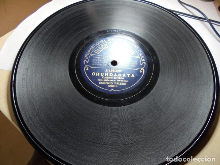 Discos de pizarra: magnificos 5 discos antiguos de pizarra - Foto 3 - 174249155
