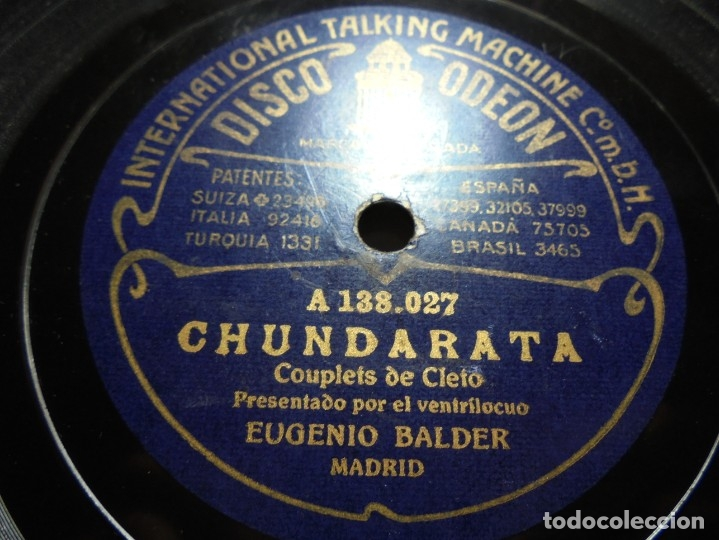 Discos de pizarra: magnificos 5 discos antiguos de pizarra - Foto 4 - 174249155