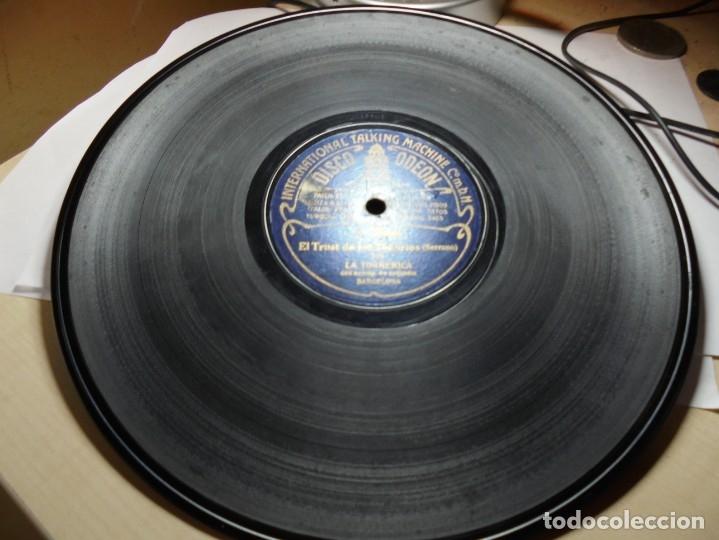 Discos de pizarra: magnificos 5 discos antiguos de pizarra - Foto 6 - 174249155