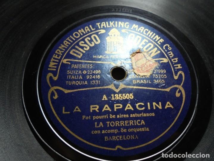 Discos de pizarra: magnificos 5 discos antiguos de pizarra - Foto 9 - 174249155
