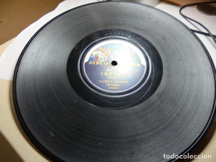 Discos de pizarra: magnificos 5 discos antiguos de pizarra - Foto 12 - 174249155