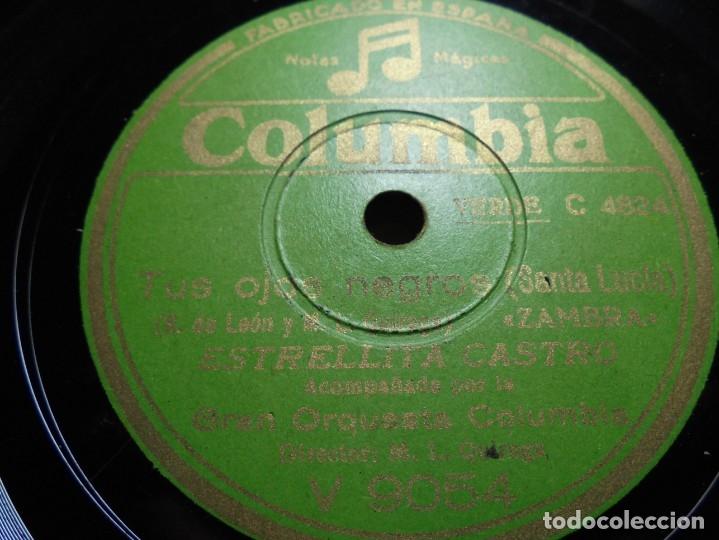 Discos de pizarra: magnificos 5 discos antiguos de pizarra - Foto 15 - 174249155