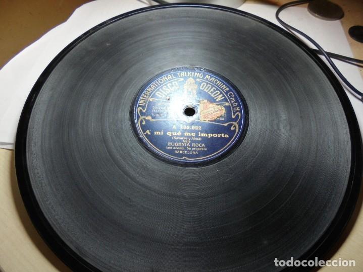 Discos de pizarra: magnificos 5 discos antiguos de pizarra - Foto 18 - 174249155