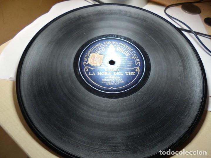 Discos de pizarra: magnificos 5 discos antiguos de pizarra - Foto 20 - 174249155