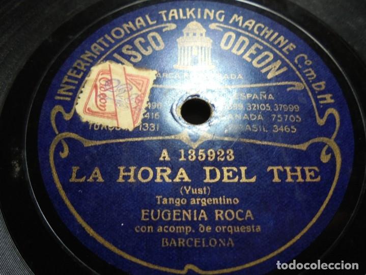 Discos de pizarra: magnificos 5 discos antiguos de pizarra - Foto 21 - 174249155