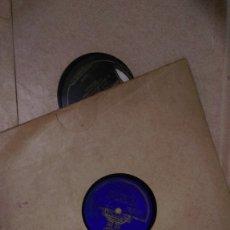 Discos de pizarra: AB-530.- LOTE DE-- 8 -- DISCOS DE PIEDRA DE DIFERENTES CANTES FLAMENCOS , VER RELACION DE CANTANTES. Lote 174282709