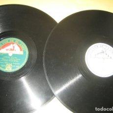 Discos de pizarra: GLEN MILLER - LOTE DE DOS PIZARRAS. Lote 174294192