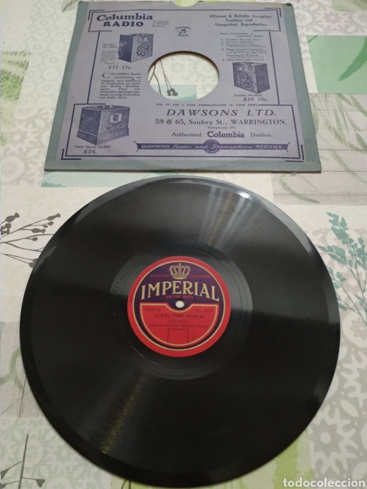 DISCO DE VINILO ANTIGUO (Música - Discos - Pizarra - Clásica, Ópera, Zarzuela y Marchas)