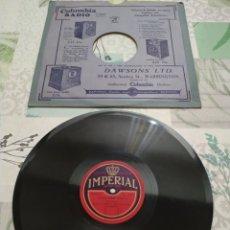 Discos de pizarra: DISCO DE VINILO ANTIGUO. Lote 174410055
