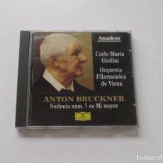 Discos de pizarra: ANTON BRUCKNER - SINFONIA NUM. 7 DE MI MAYOR, CARLO MARIA GIULINI. Lote 174952958