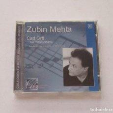 Discos de pizarra: CARL ORFF, CARMINA MURANA - ZUBIN MEHTA. Lote 174959783