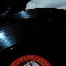 Discos de pizarra: R8,DISCO PARA GRAMÓFONO/LA VOZ DE SU AMO/CASCANUECES//78 REV/30CM. Lote 175074994