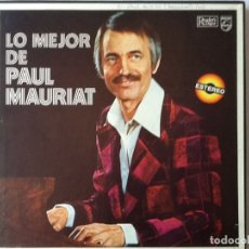 Discos de pizarra: L.P. VINILO. LO MEJOR DE PAUL MAURIAT. CON SU ORQUESTA. CON 8 DISCOS, NUEVO. VER FOTOS.. Lote 175813782
