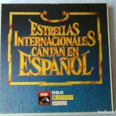 Discos de pizarra: L.P. VINILO. ESTRELLAS INTERNACIONALES CANTAN EN ESPAÑOL.CON 8 DISCOS, NUEVO. VER FOTOS.. Lote 175814095