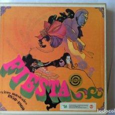 Discos de pizarra: L.P. VINILO. FIESTA, EXITOS MUSICALES 1950-1960..CON 10 DISCOS, NUEVO. VER CONTRATAPA LOS TÍTULOS.. Lote 175814280