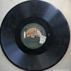 Discos de pizarra: TRIANERAS. PASTORA IMPERIO. DISCO DE PIZARRA. GRAMÓFONO.. Lote 175913910