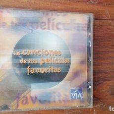 Discos de pizarra: CD LAS CANCIONES DE TUS PELICULAS FAVORITAS(VIA DIGITAL)(1999). Lote 176155295