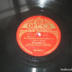 Discos de pizarra: BING CROSBY - A PERFECT DAY - MAY THE COOD ... Lote 176169654