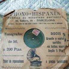 Discos de pizarra: DISCO DE PIZARRA. Lote 176265470
