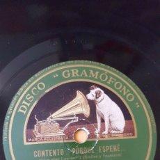 Discos de pizarra: DISCO 78 RPM - GRAMOFONO - ORQUESTA NEW MAYFAIR - FIESTA - FOXTROT - SAMUELS - WHITOUP - PIZARRA. Lote 176690985