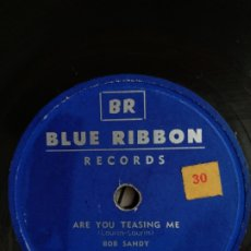 Discos de pizarra: DISCO DE PIZARRA BLUE RIBBON ARE YOU TEASING ME. Lote 176749094