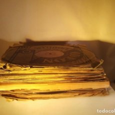 Discos de pizarra: GRAN LOTE DE 20 DISCOS DE PIZARRA DE 25 CM PARA GRAMOFONO- AÑOS 20-LOTE 1: DIVERSOS ESTILOS. Lote 230313150