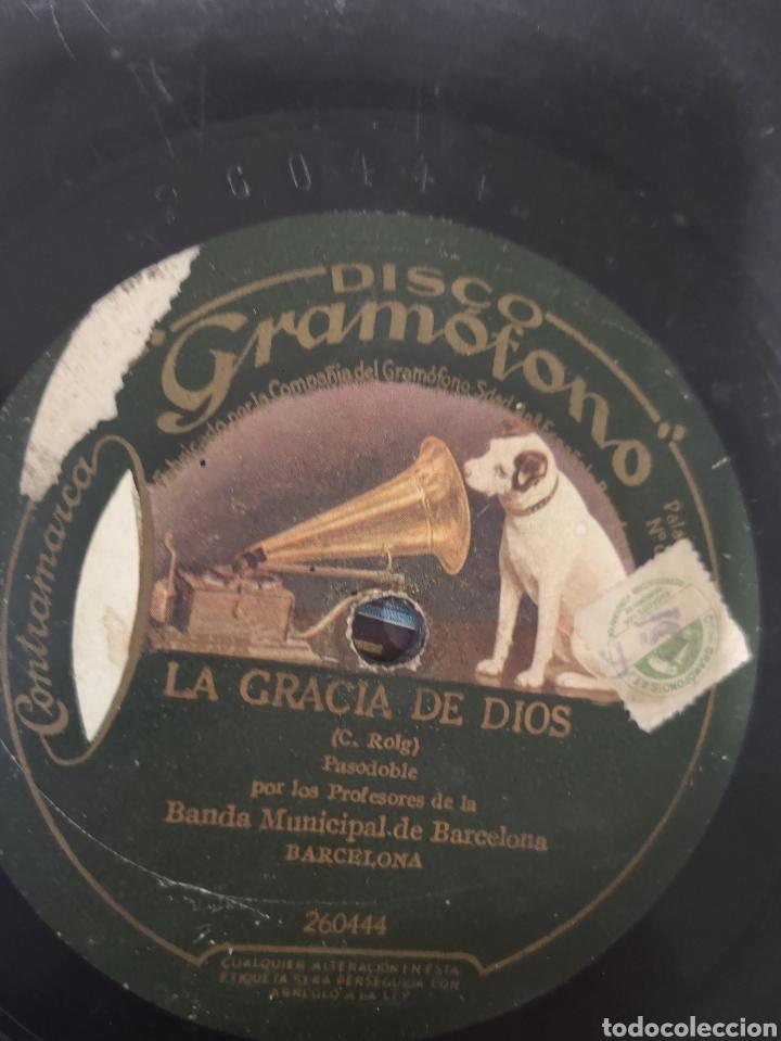 Discos de pizarra: LOTE 6 DISCOS DE PIZARRA - Foto 12 - 176906110