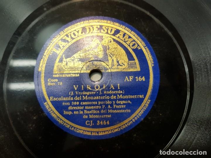 Discos de pizarra: Disco Pizarra-Salve Monserratina-Capilla Monasterio Monserrat rev 78 - Foto 3 - 176930163