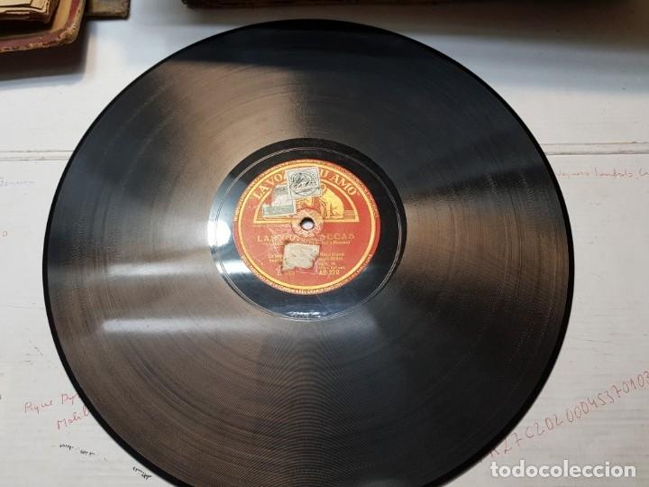 Discos de pizarra: Disco Pizarra-Las Sardanas de las Monjas-Orfeon Catalan rev 78 sellado - Foto 4 - 176930947