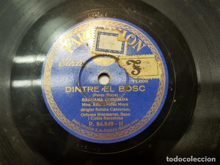 Discos de pizarra: Disco Pizarra-Marinada-Sardana Corejada rev 78 sellado - Foto 3 - 176931832