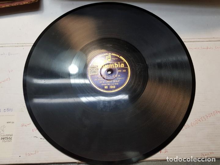 Discos de pizarra: Disco Pizarra-Ocellada-Orfeo Catala rev 78 sellado - Foto 2 - 176956203