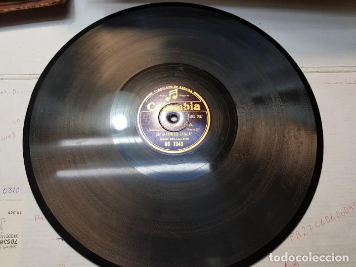 Discos de pizarra: Disco Pizarra-Ocellada-Orfeo Catala rev 78 sellado - Foto 4 - 176956203