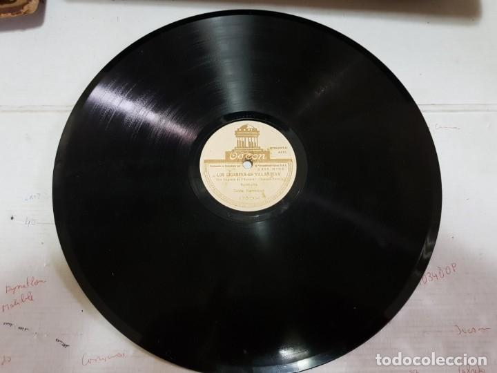 Discos de pizarra: Disco Pizarra-Los Gigantes de Villanueva-Sardana Catala rev 78 sellado - Foto 2 - 176956388