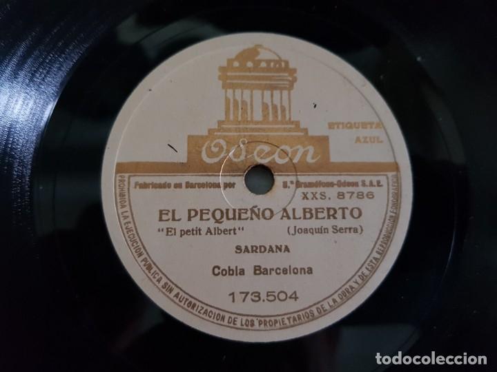 Discos de pizarra: Disco Pizarra-Los Gigantes de Villanueva-Sardana Catala rev 78 sellado - Foto 3 - 176956388