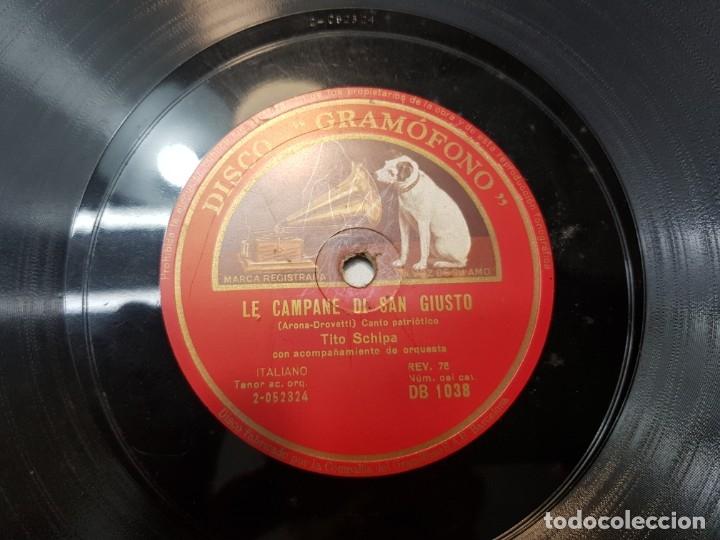 Discos de pizarra: Disco Pizarra-Mamma Mía,Che Vo Sape-Cancion Napolitana rev 78 - Foto 3 - 176957015