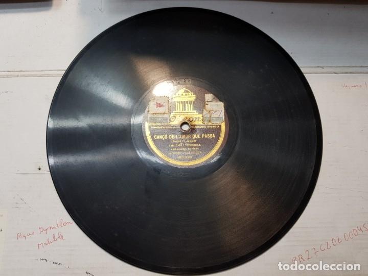 Discos de pizarra: Disco Pizarra-Cançó de LAmor que Passa -Odeon - Foto 4 - 176962087