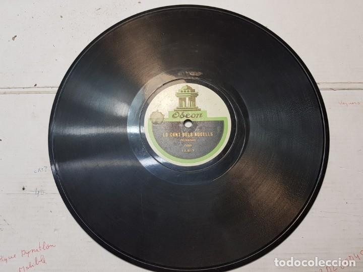 Discos de pizarra: Disco de Pizarra antiguo-La Pastoreta-Villancico de Odeon - Foto 3 - 176975618