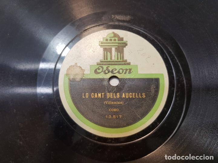 Discos de pizarra: Disco de Pizarra antiguo-La Pastoreta-Villancico de Odeon - Foto 4 - 176975618