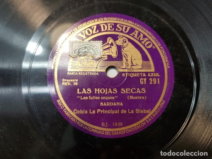 Discos de pizarra: Disco de Pizarra antiguo-El Señor Esteban-Sardana sellado escaso - Foto 3 - 176979123