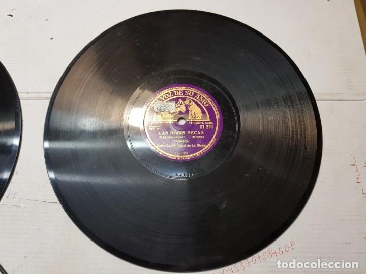 Discos de pizarra: Disco de Pizarra antiguo-El Señor Esteban-Sardana sellado escaso - Foto 4 - 176979123